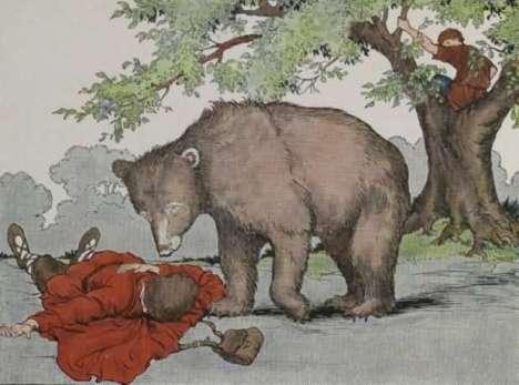 59-dua-orang-pengembara-dan-seekor-beruang